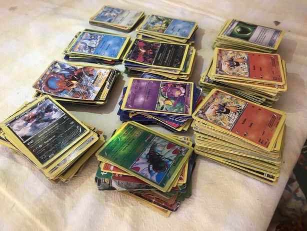Cartas pokemon, antigas, algumas repetidas, so vendo o lote