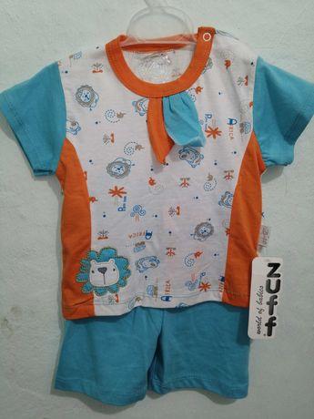 Детский костюм (футболочка и шортики). Размер 92
