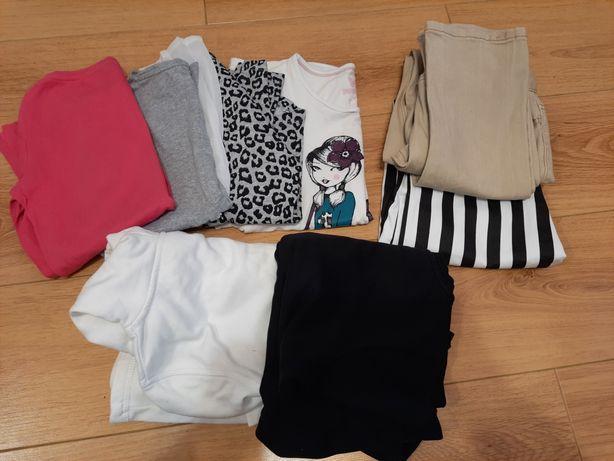 Zestaw ubrań dla dziewczynki 140-152