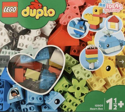 LEGO DUPLO блоки для детей старше 1,5 лет Heart Box 10909 Лего Дупло