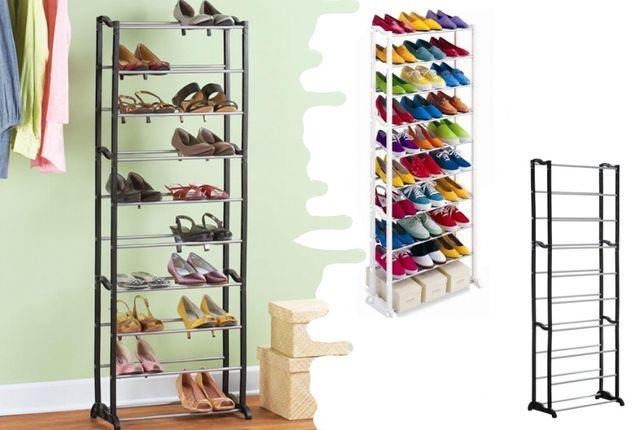 Полка тумба подставка стеллаж для вещей и обуви 30 пар Amazing Shoe