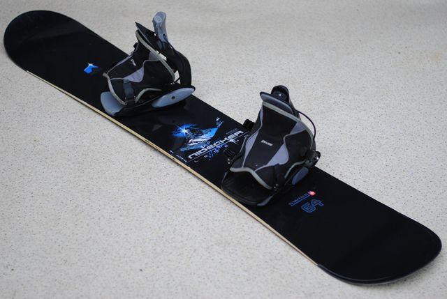 Deska snowboardowa snowboard Nidecker 165 cm wiązania Flow