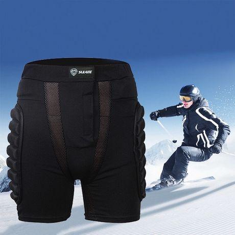 Защитные шорты для сноубордистов для копчика