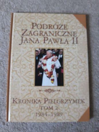 """Książka """"Podróże zagraniczne Jana Pawła II"""""""