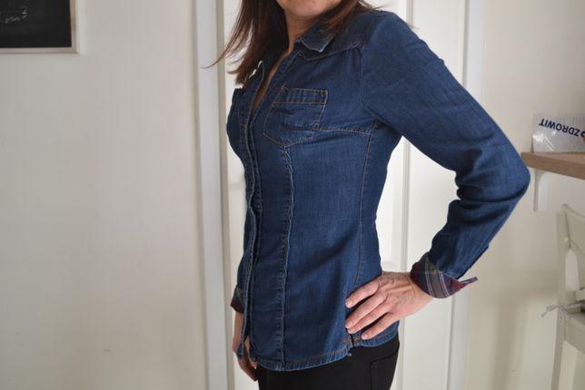 jeansowa koszula, bluzka
