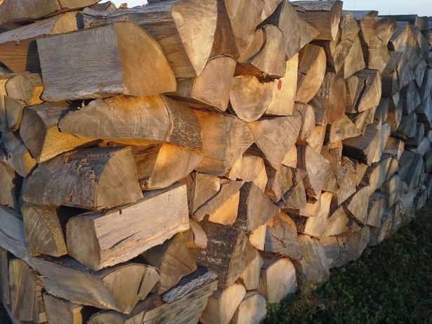Sezonowane drewno kominkowe opałowe - Układane metry - Szybka dostawa