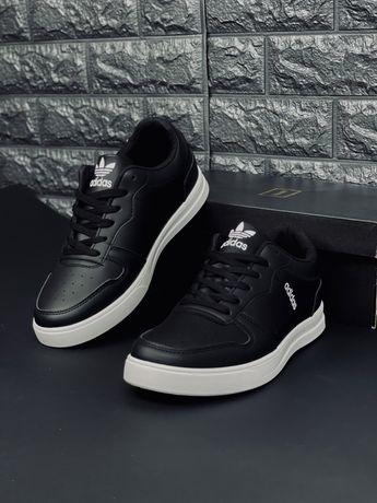 Кожаные красовки кеди Адидас Оригинальные кроссовки Adidas Original