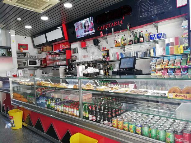 Trespasse Café Pastelaria restaurante.Movimentado,Belém Restelo Lisboa