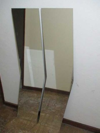 2 espelhos de fixar na parede