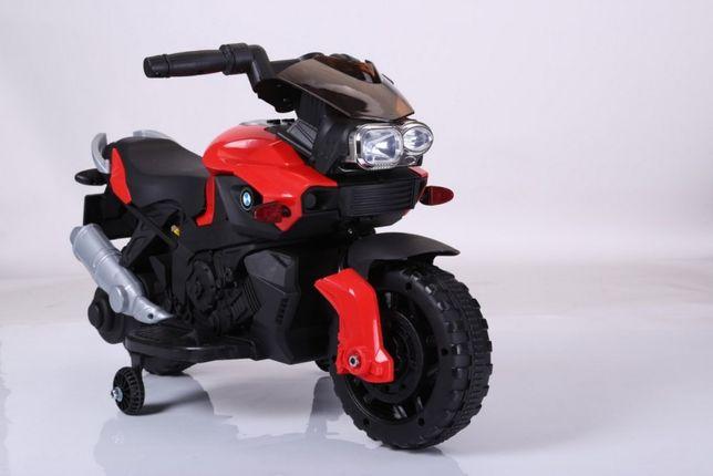 Pojazd Motor Motorek na akumulator SmartBike Czerwony