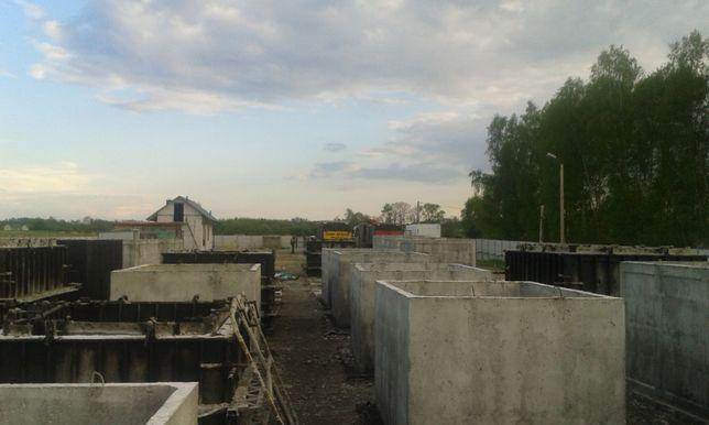 szamba, szambo, zbiorniki betonowe 10m3 wysoka jakość wodoszczelne