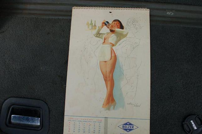 calendarios pin-ups vintage