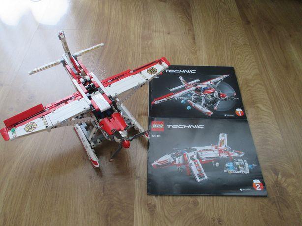 Lego Technic 42040 samolot stan bdb.