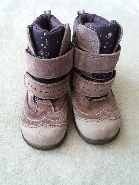 Ecco 24 р-р ботинки зимние