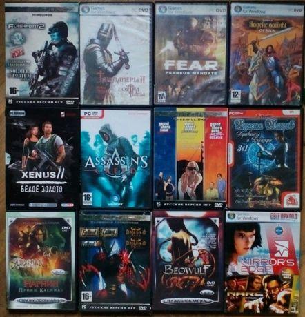 36 DVD дисков популярных хитов игр различных жанров и стилей ценазавсе