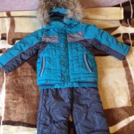 Продам зимный костюм на мальчика 2-3 года (92-95см)