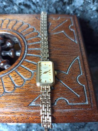Piękny złoty zegarek, CERTYFIKAT, złoto
