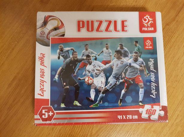 Puzzle Łączy nas piłka 160 elementów