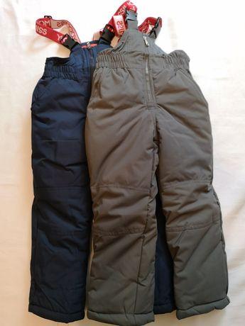 Зимние штаны полукомбинезон от 3 до 9лет