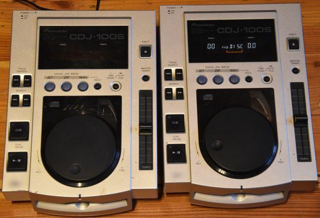 2x Pioneer CDJ-100S Japan dla D`j-a