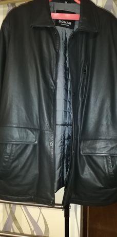Кожаная мужская куртка DONAR Mensvaer.