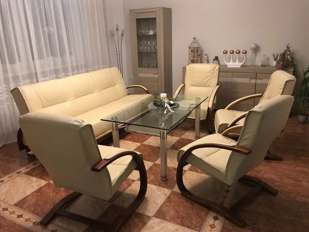 Wersalka + 4 fotele
