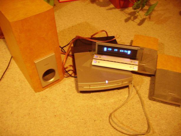 PIONEER XC-L77 - zestaw cd+radio+2 głośniki+subwoofer