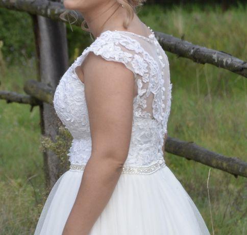 Suknia sukienka ślubna 36