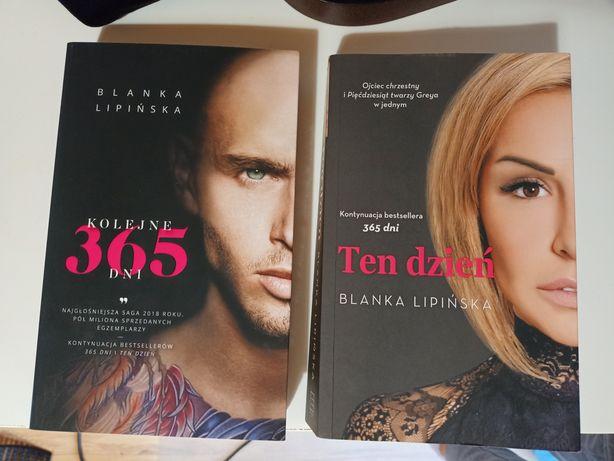Komplet książek Blanki Lipińskiej