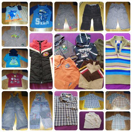 Ubrania chłopięce rozmiar 86-92
