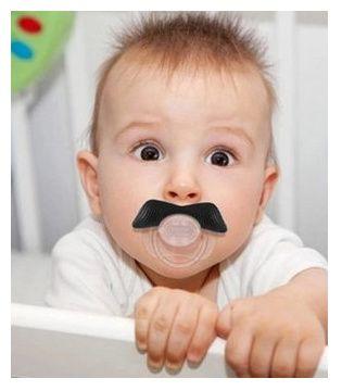 Chupeta Bigode Bebé/Moustache BPA Free