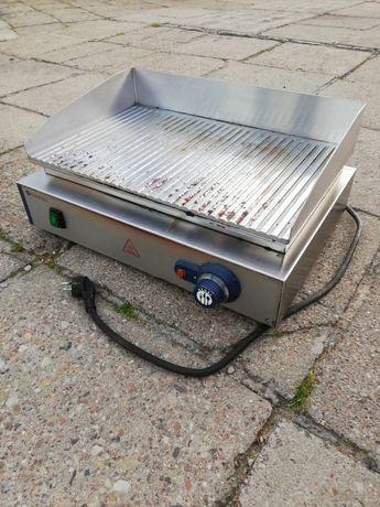 Płyta grzewcza grillowa Blue Line ryflowana do pracy ciągłej 2400W