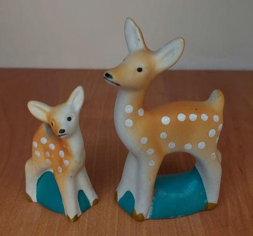 Фарфоровые фигурки оленята