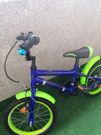 "Rower chłopięcy 16"", kask gratis"