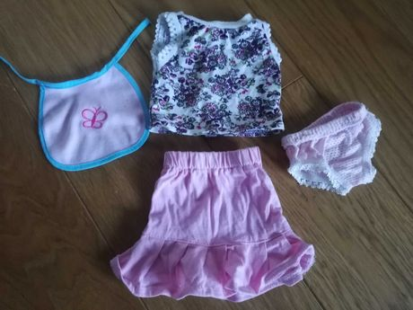 Ubranka dla lalki bobasa typu Baby born