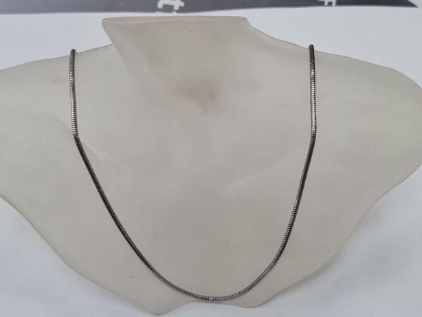 Srebrny łańcuszek damski/ Żmijka/ 925/ 7.72 gram/ 55 cm/ Pełny