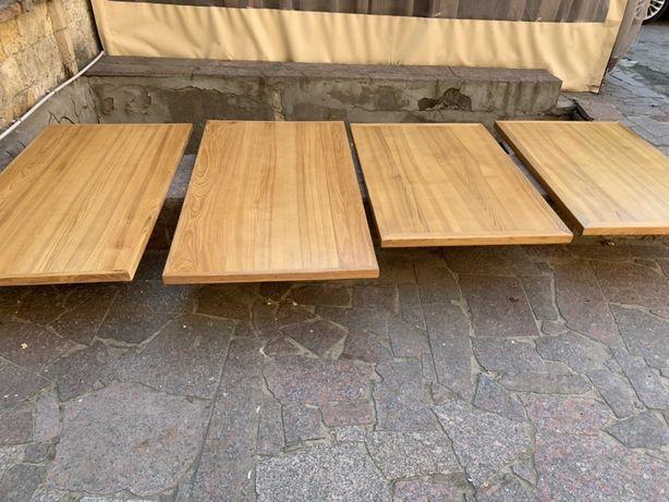 Столешка деревянная для стола из ясеня
