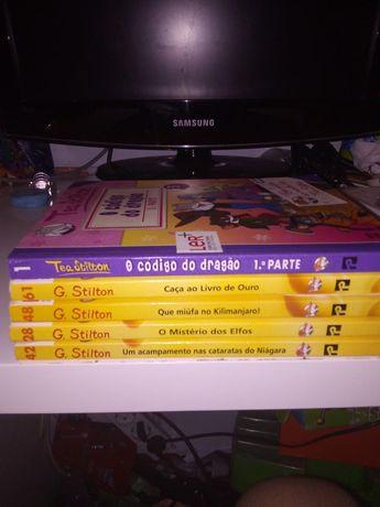 Geronimo stilton 5 livros- vendo também em separado