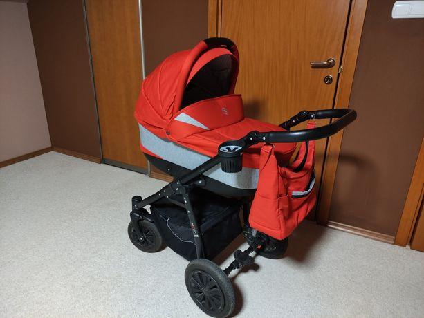 Wózek 2w1 Jedo nevo czerwony