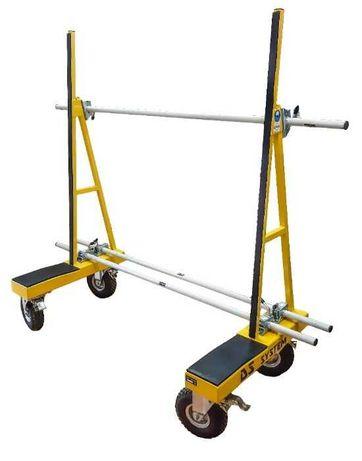 Wózek transportowy do okien oraz płyt do 1000kg - DS SYSTEM