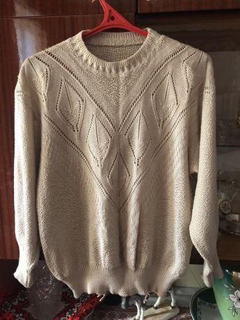 Вязаний светр 58 розмір