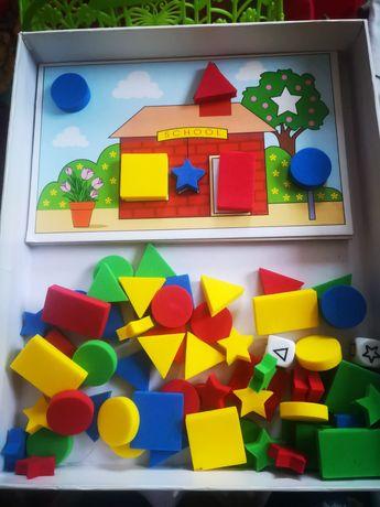 Настольная игра цвета и формы!