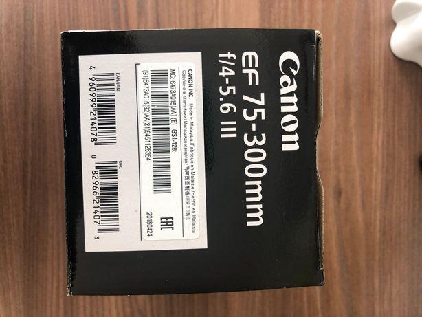 Obiektyw Canon EF 75-300 mm f/4-5.6