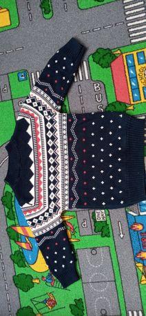 Swetr chłopiecy 98-104