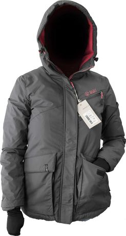 Zimowa kurtka damska z kapturem M
