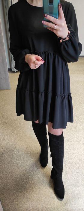 Sukienka mała czarna, roz. 42 Konstantynów Łódzki - image 1