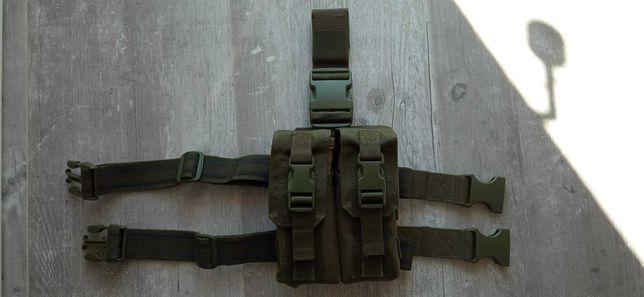Condor Drop Leg M4/M16 Mag Pouch Zielona OD ASG ładownica udowa