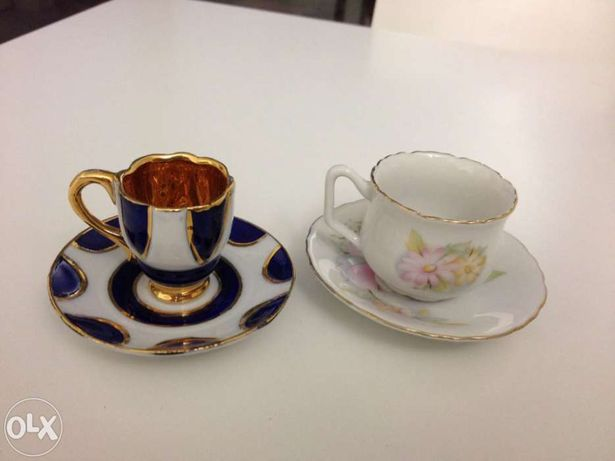 Chávenas decorativas