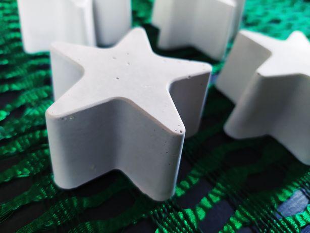 Звезда рождественская (новогодняя). Декор из гипса