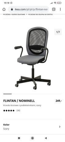 Sprzedam krzeslo do biurka Ikea Flintan dtan bdb